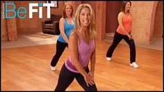 Pregnancy Workout: 1st & 2nd Trimester Toning- Denise Austin - YouTube