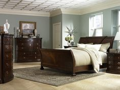 Spa-like-Bedroom-Ideas.jpg (500375) Love the wall color for my bedroom with my dark furniture