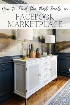 14 rules to follow to help you find the best deals on Facebook Marketplace to finish your home or flip furniture for resale for a profit.