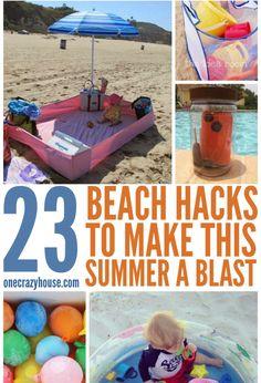 Beach trip tips, beach vacation packing list, beach hacks, florida vacation