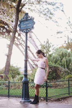 Editorial fotografado em Paris por Renato Milani - Vestido Miu Miu botas Dior