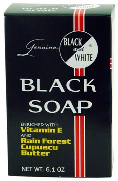 Black and White Soap, 6.1 Ounce => Find out more details by clicking the image : Body Care