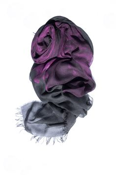 simply elegance with its dark colors, the wonderful *ORCHID* foulard has it all and is definitely a favorite piece accessory Dark Colors, Orchid, Scarves, Elegant, Women, Fashion, Headscarves, Scarfs, Classy