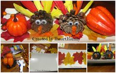 Kids DIY ~ Thanksgiving Centerpiece