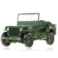 1-18-tactical-military-model-alloy-vintage-World-War-II-Willys-Jeep-military-Car