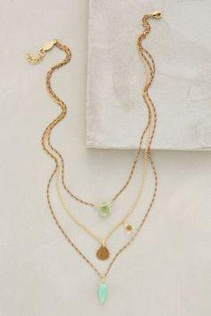 Anthropologie Tesoro Layered Necklace #anthrofave