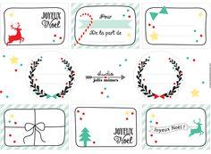Printable - Etiquettes de Noël