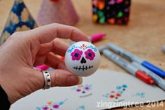Sugar Skull Doll Face