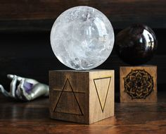 Element Sphere Stand by GrayVervain on Etsy