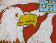 patriotic art for students   Patriotic Eagles Grade 4   K-8 Art