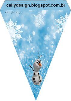 Kit de Frozen con Nieve para Imprimir Gratis.