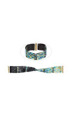Jewelry Design - Bracelet with Tila® Beads and Swarovski Crystal - Fire Mountain Gems and Beads
