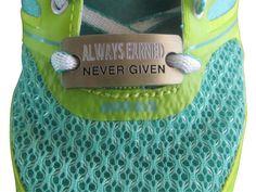 6486628997aa Keep Running inspirational shoe charm - hebrews 12:1 | Other ...