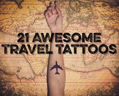 21 Awesome Travel Tattoos [Photos]