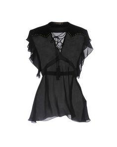 ROBERTO CAVALLI Blouse. #robertocavalli #cloth #dress #top #skirt #pant #coat #jacket #jecket #beachwear #