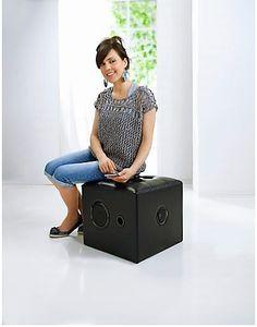 Soundhocker Cube - Bester Sound für Ihre Wohnung! #sound #haushalt #einrichtung #weltbild