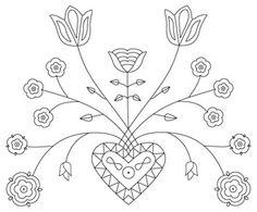 motif de broderie. 3582   coloriage à imprimer