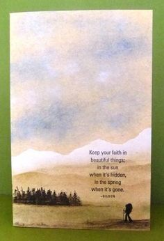 Keep your faith by Tilly - Cards and Paper Crafts at Splitcoaststampers
