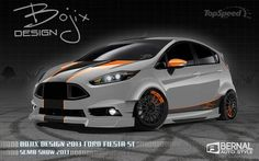 2014 Ford Fiesta ST By Bojix Design Visit http://www.fordgreenvalley.com/