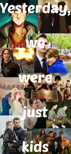 Chronicles of Narnia, Divergent, Hunger Games, Maze Runner, Percy Jackson, The Fault in Our Stars, The Selection, Twilight