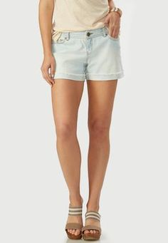 Cato Fashions Frayed Cuff Girlfriend Jean Shorts #CatoFashions