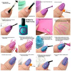 Easy nail art with KBShimmer Nail Vinyls. A step-by-step tutorial.