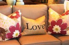 Love Pillow Valentines Day decoration/craft