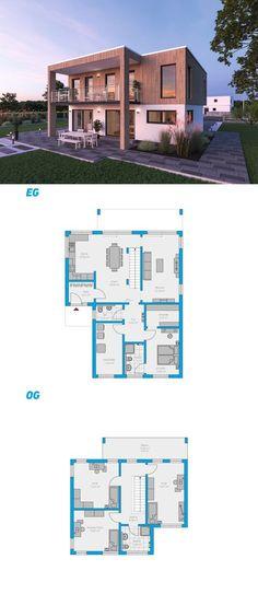 Alea 190 – turnkey solid house # spectral house # ingutenw … - Home & DIY Dream Home Design, Home Design Decor, My Dream Home, House Design, Sims 4 House Plans, Modern House Plans, Small House Plans, Casa Top, Town Country Haus