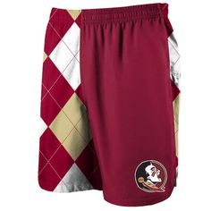 a23a1cea0d Florida State Seminoles Loudmouth Rival Athletic Shorts - Garnet Gold