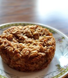 Little Oatmeal Cakes - another healthy snack idea