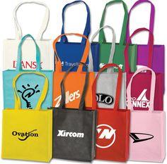 "$0.45 Vertical Tote Small Orange 12"" X 13"" X 5"" Blank No Logo At Liquidationprice.com"