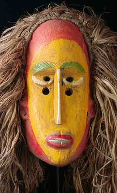 African Mandingo mask, Guinea, West Africa