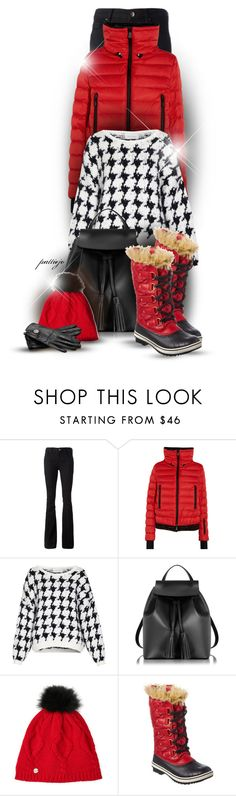 """""""Puff Up"""" by rockreborn on Polyvore featuring dVb Victoria Beckham, Moncler Grenoble, American Vintage, Le Parmentier, Spyder, SOREL and Gucci"""