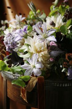 Saipua lavender and white bouquet: #wedding #bouquet #purple: www.belatheephotography.com