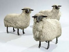 Sheep by Claude and Francois-Xavier Lalanne.