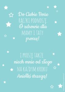 Plakat z modlitwą Do Ciebie Boże Garden Projects, Diy Projects, Activities For Kids, Crafts For Kids, Baby Time, Quotes For Kids, Kids And Parenting, Christening, Baby Room