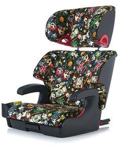 tokidoki Car seat XD  boom baby hot mama coming though lol