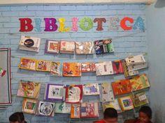 Resultado de imagen para estante para colocar cuentos en aula niños preescolar