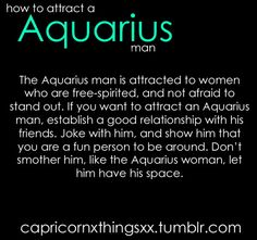 Seduce aquarius woman