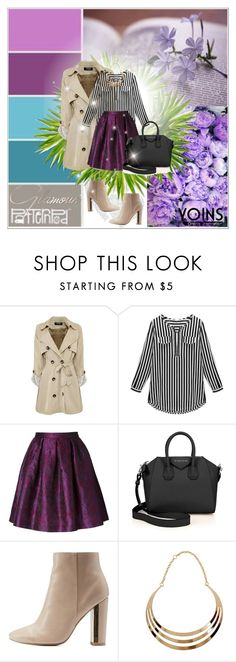 """""""Yoins 6/10"""" by mell-2405 ❤ liked on Polyvore featuring Charlott, Givenchy and Charlotte Russe"""