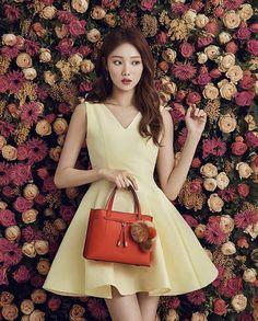 Lee Sung Kyung // Cheese in the Trap & Weightlifting Fairy Kim Bok Joo Korean Actresses, Korean Actors, Lee Sung Kyung Fashion, Lee Sung Kyung Hair, Lee Sung Kyung Nam Joo Hyuk, Korean Beauty, Asian Beauty, Korean Celebrities, Celebs