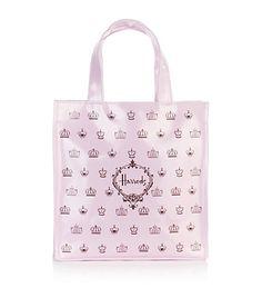 Harrods - Harrods Pink Small Crown Shopper Bag at Harrods