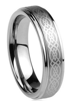This is a very high quality Titanium Celtic ring. This wonderful ring has a celtic knot design. Shipping Time : 4 to 8 Days International: 39 Days Specifications - Genuine Pure Titanium - Polished Edg