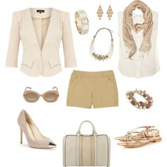 """peaches and cream clear spring"" by sarah-louise-jones on Polyvore"
