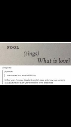 What is love!