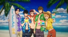 Free! Timeless Medley Photo Session~