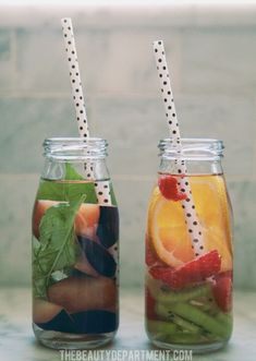 fruit infused water ideas 5 and 6