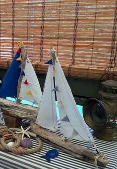 Large driftwood boat driftwood sailboat boat by hippiefishbeachart