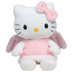 Hello Kitty Pink Angel TY Beanie Babies