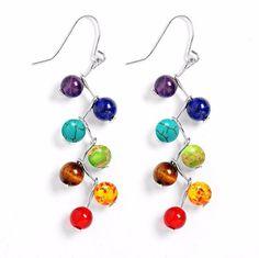 7 Chakra Earrings